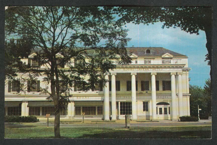 Boone Tavern Hotel Berea KY postcard 1966