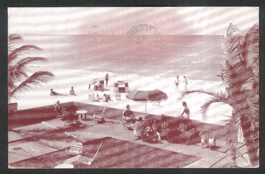 The Mariner 4220 Gulf Blvd Belle Vista St Petersburg Beach FL postcard 1955
