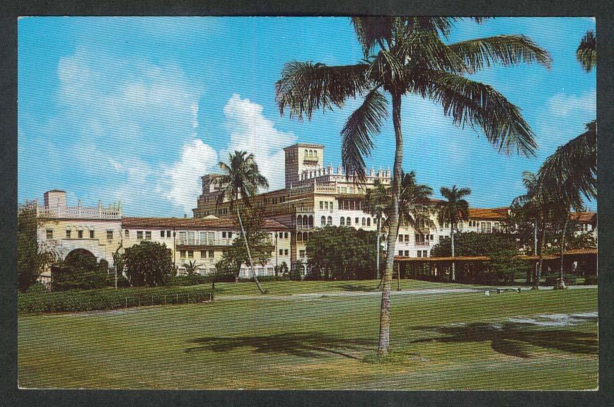 Boca Raton Club & Hotel Boca Raton FL postcard 1972