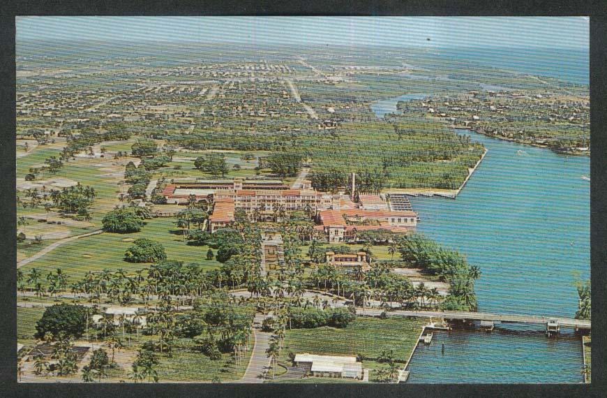Boca Raton Club Boca Raton FL postcard 1966