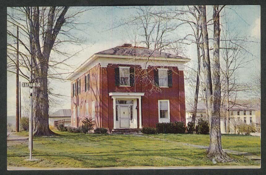 Stephen Collins Foster School Towanda PA postcard 1967