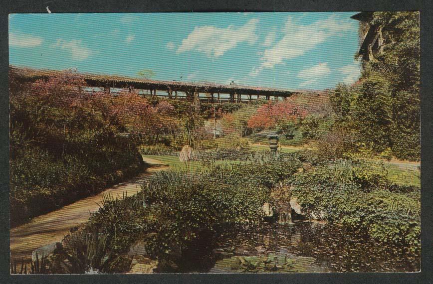 Huntington-Sheraton Hotel Pasadena CA postcard 1950s