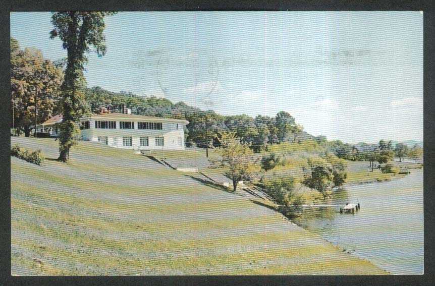 Lake White Club Lake White Waverly OH postcard 1971