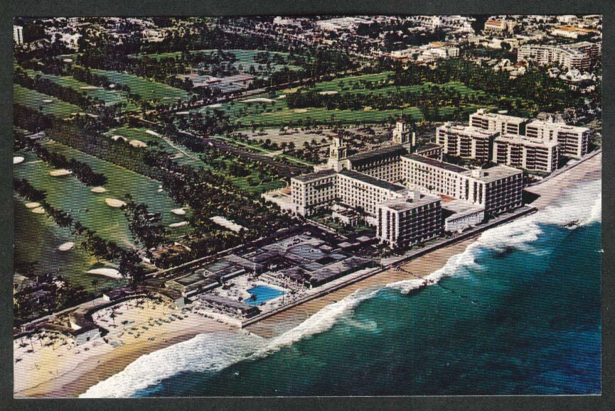 The Breakers Resort Palm Beach FL postcard 1982