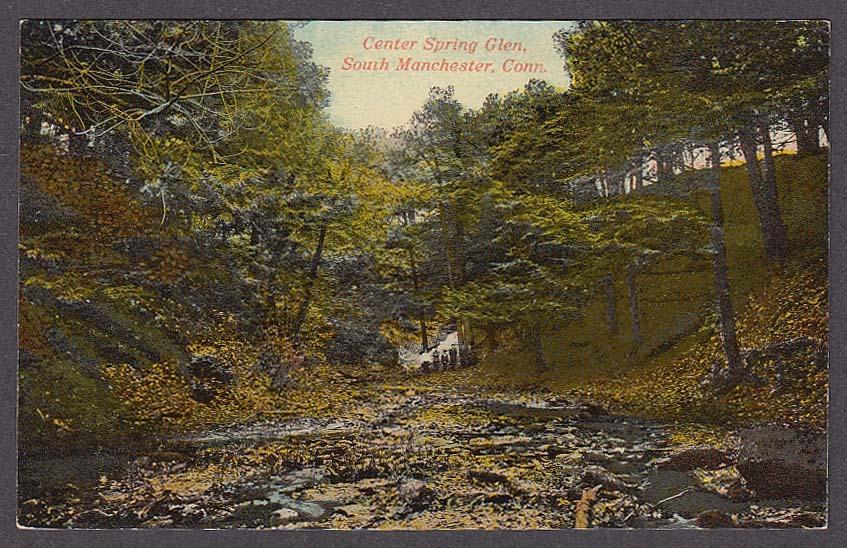 Image for Center Spring Glen South Manchester CT postcard 1910s