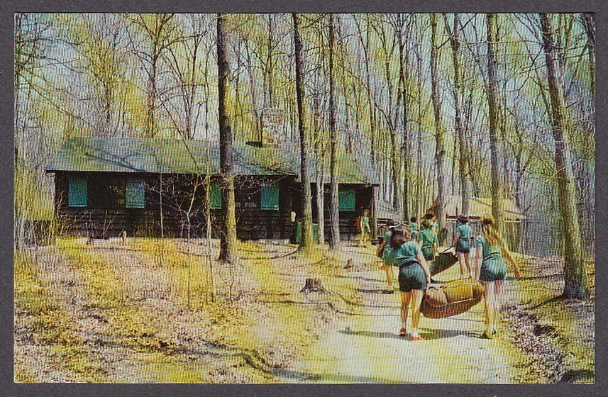 Image for Rockwood National Girl Scout Camp 11001 MacArthur Blvd Bethesda MD postcard
