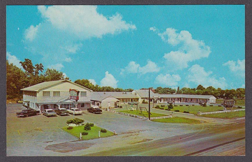 Image for Stone Manor Motel Harrodsburg KY postcard 1950s