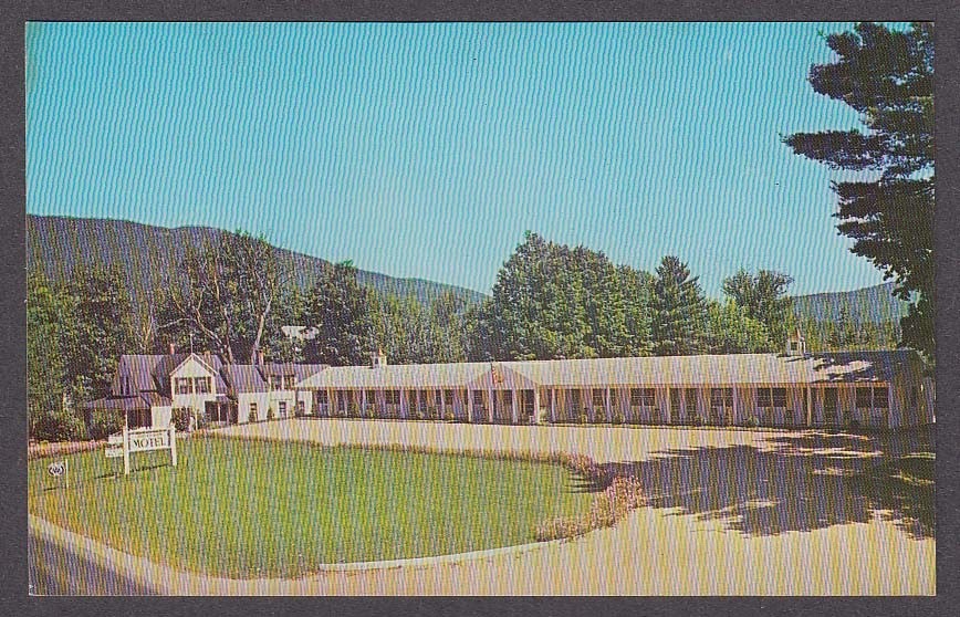 Image for Clarendon Inn & Motel North Conway NH postcard 1950s