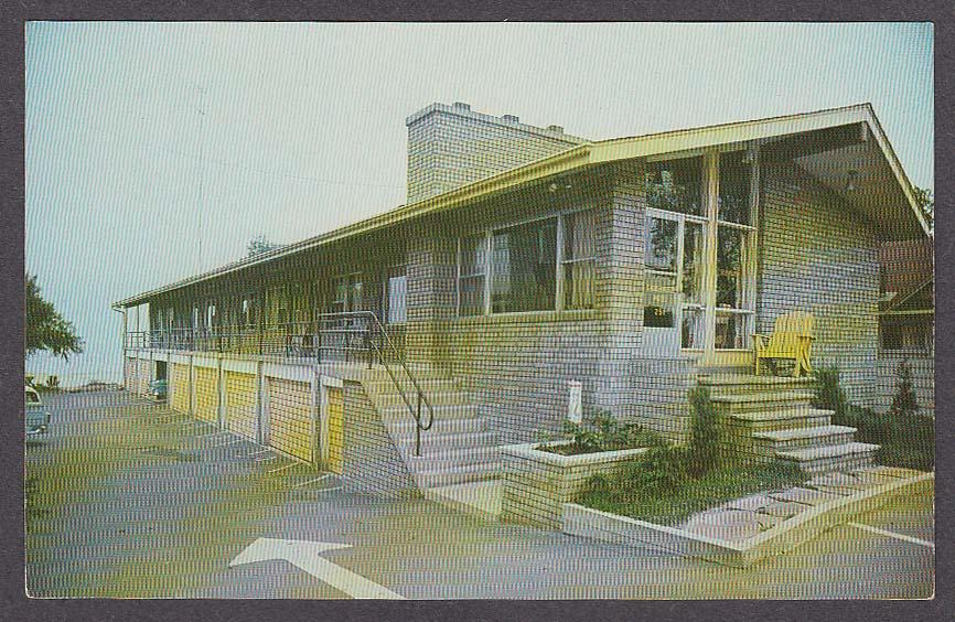 Image for Shore Breeze Motel 251 Lakeshore Rd Toronto Ontario Canada postcard 1950s