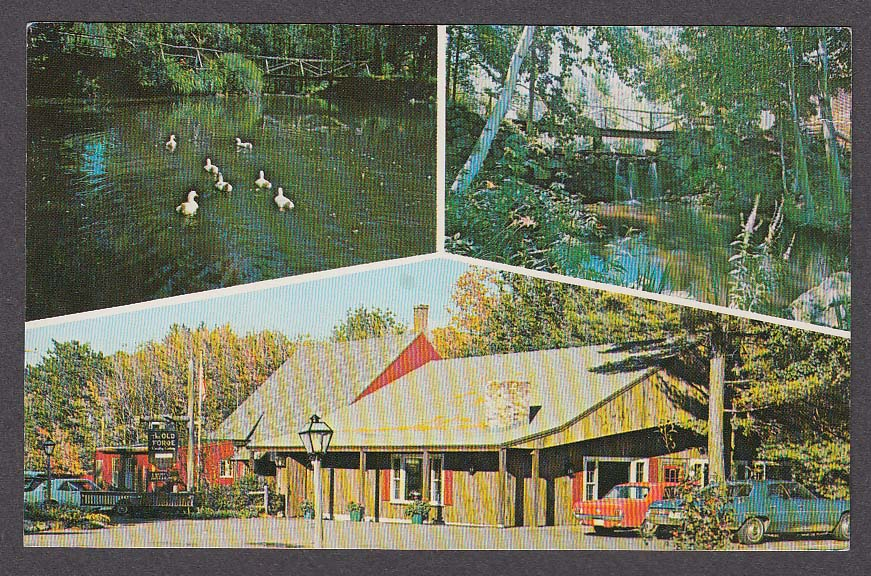 Image for The Old Forge Restaurant West Rindge NH postcard 1970s