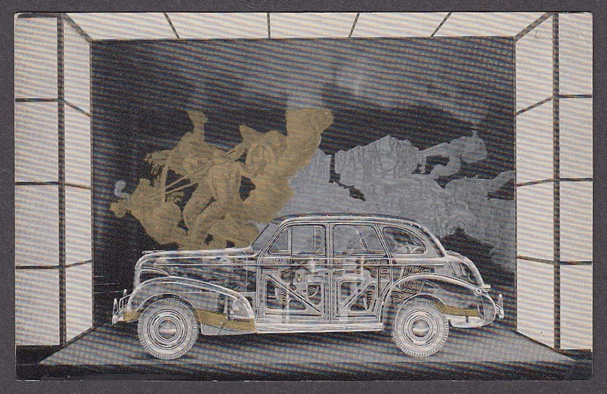 Image for Transparent Car Body by Fisher New York World's Fair 1939 postcard