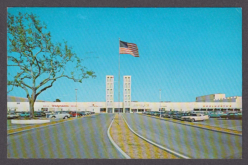 Image for Walgreens Woolworth's Winter Park Mall Shopping Center FL postcard 1970