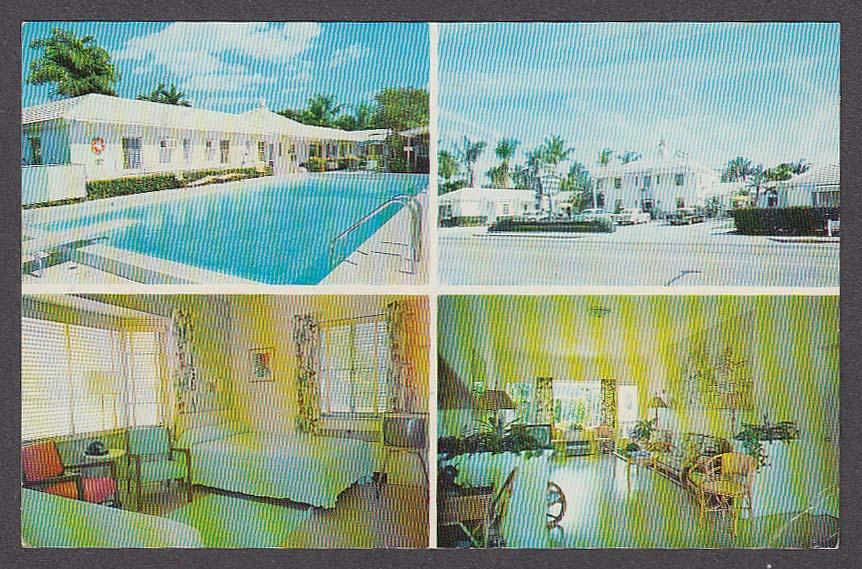 Image for The Original Mount Vernon Motor Lodge Belvedere Road Palm Beach FL postcard 1964