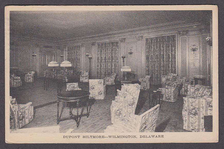 Image for Dupont Biltmore Wilmington DE postcard 1930