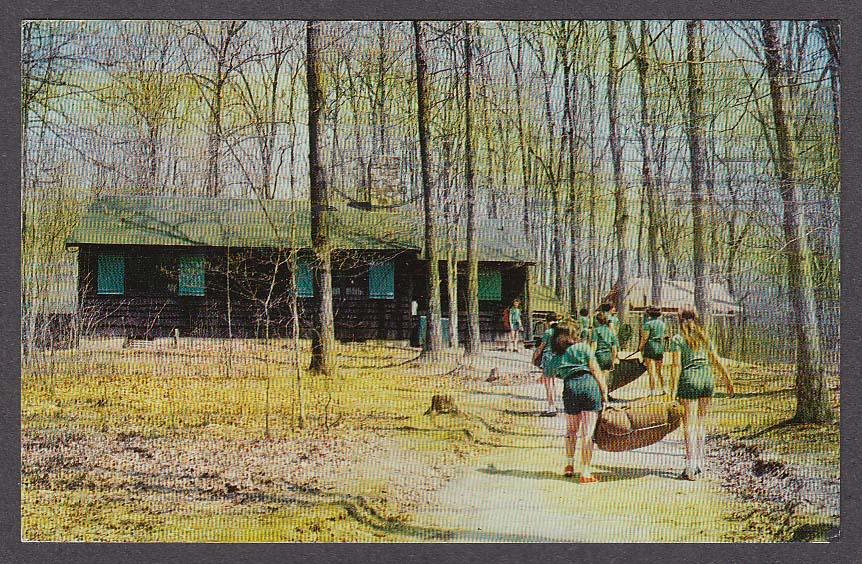 Image for Rockwood National Girl Scout Camp 11001 MacArthur Blvd Bethesda MD postcard 1966