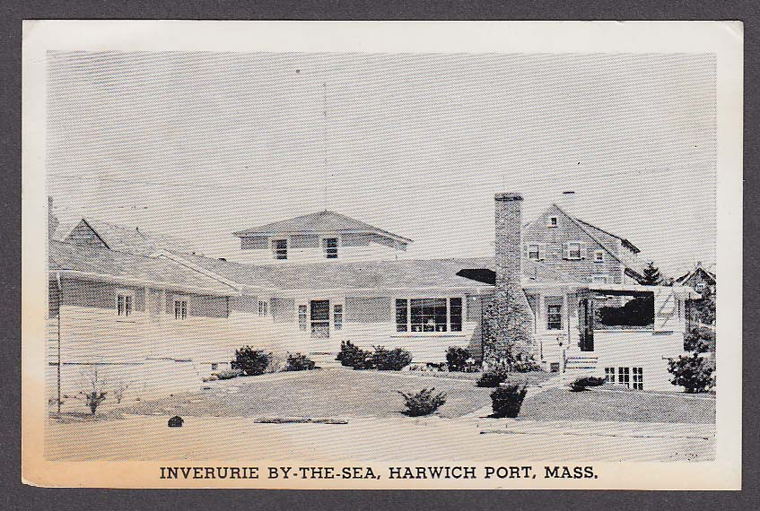 Image for Inverurie By-the-Sea 4 Pilgrim Road Harwich Port MA postcard 1960