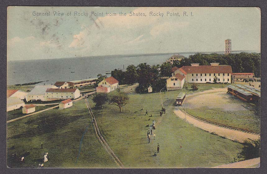 Image for General View of Rocky Point from the Shutes Rocky Point RI postcard 1922