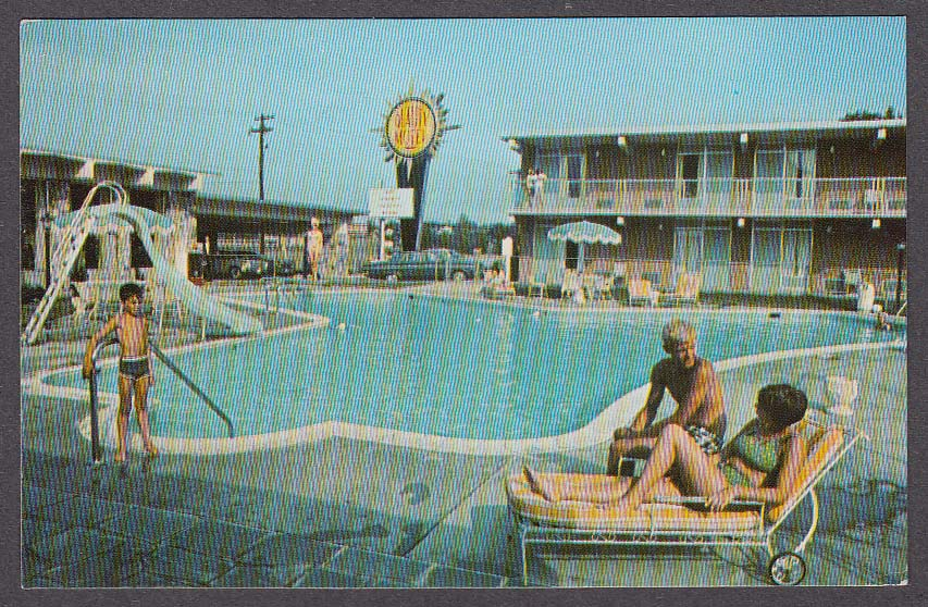 Image for Quality Inn East Winchester VA postcard 1969
