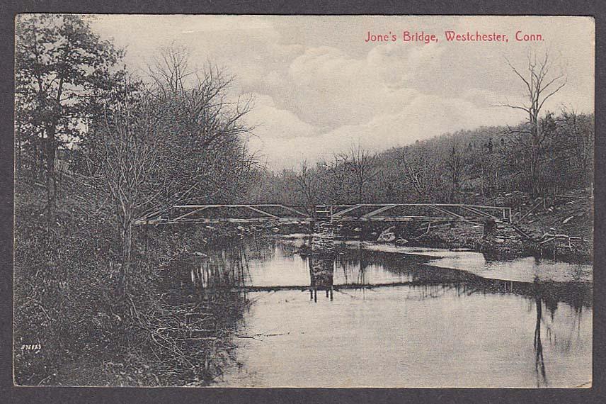 Image for Jone's Bridge Westchester CT postcard 1910s