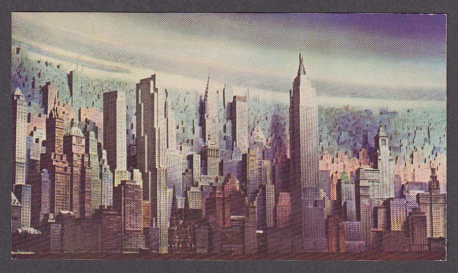 Image for Consolidated Edison City of Light Diorama New York World's Fair postcard