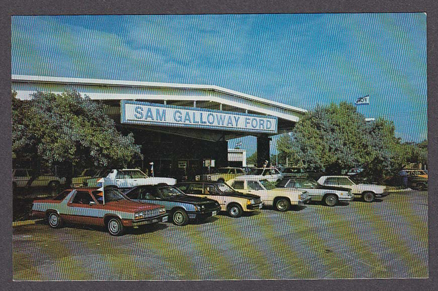 sam galloway ford 4540 cleveland ave fort myers fl postcard 1980s. Black Bedroom Furniture Sets. Home Design Ideas