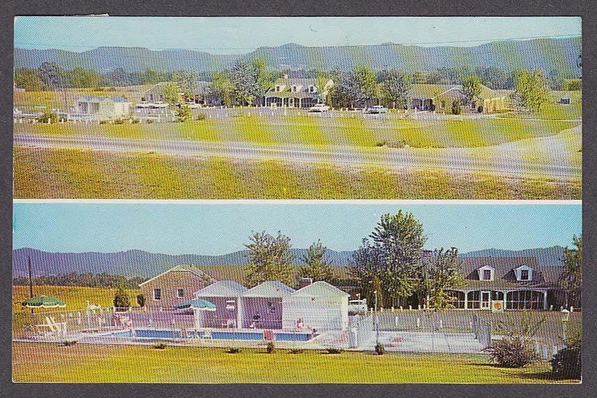 Portsmouth Motel Portsmouth OH postcard 1963