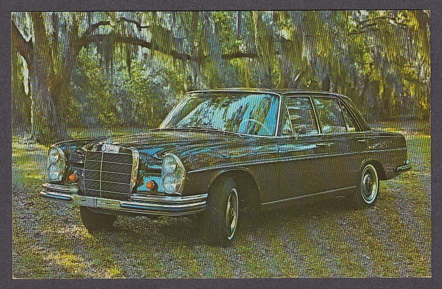 Mercedes-Benz 250S/SE Sedan postcard 1965