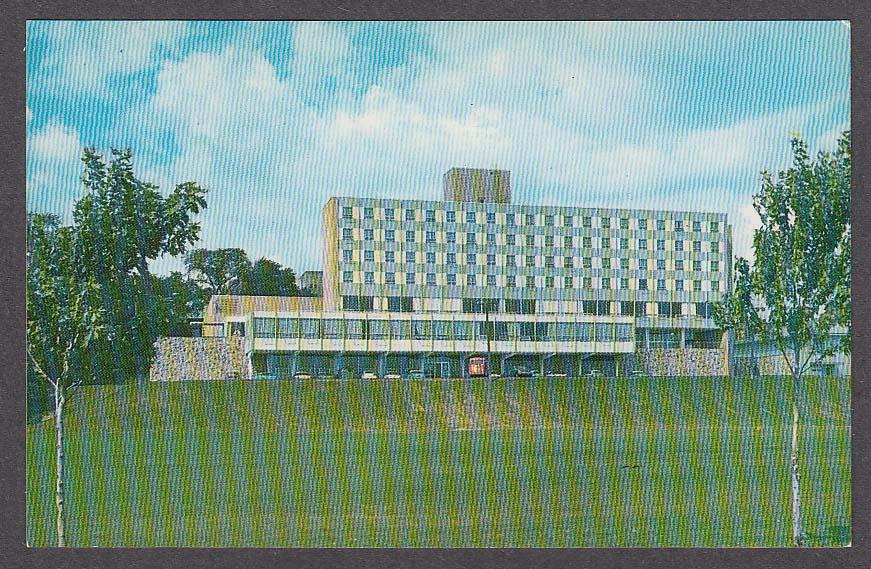 John G Pershing Park YMCA Racine WI postcard 1950s