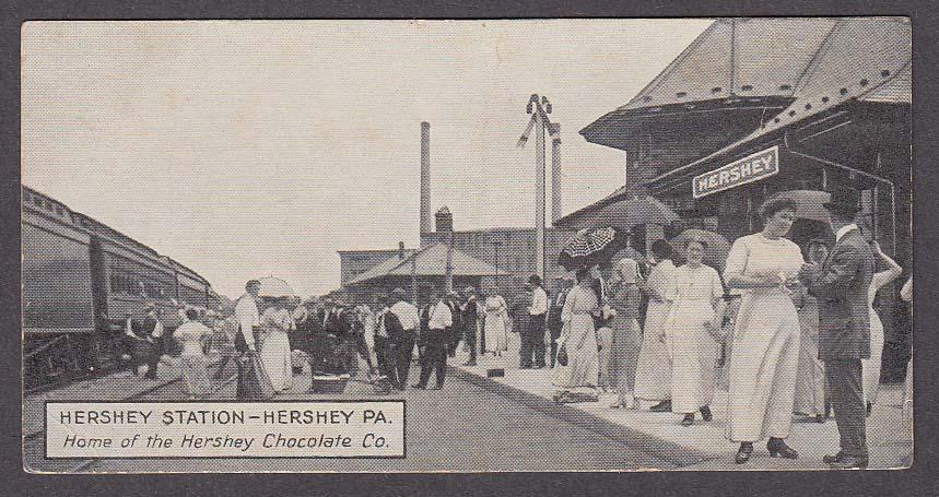 Hershey Station Hershey PA postcard 1910s