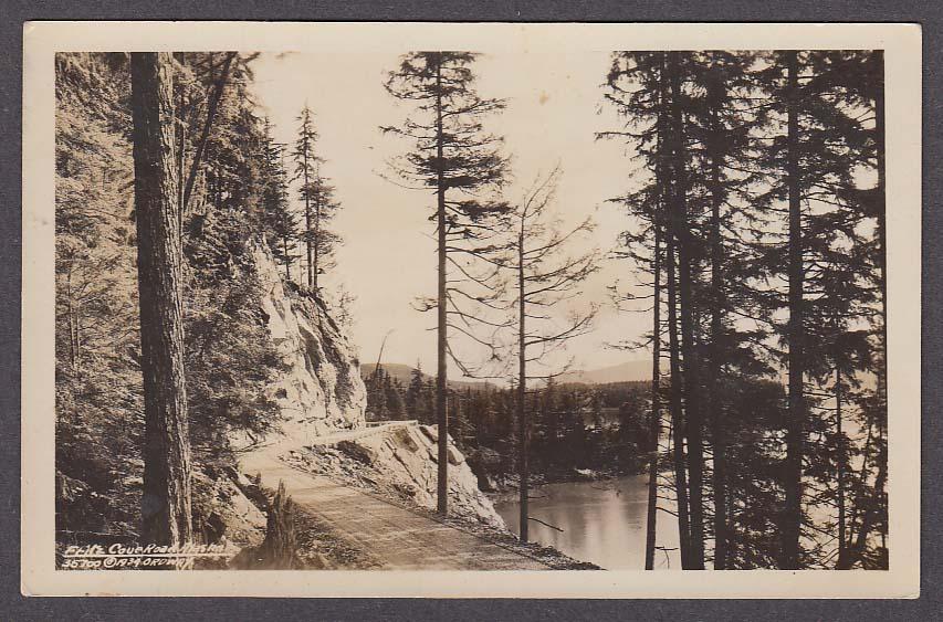 Fritz Cove Road AK RPPC postcard 1920s