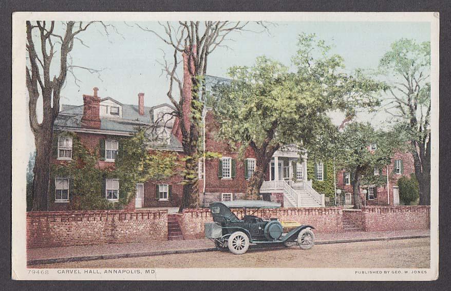 Carvel Hall Annapolis MD postcard 1910s