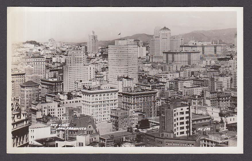 Gassner Furrier Warner Bros Wiltshire Galen San Francisco CA RPPC postcard 1950s