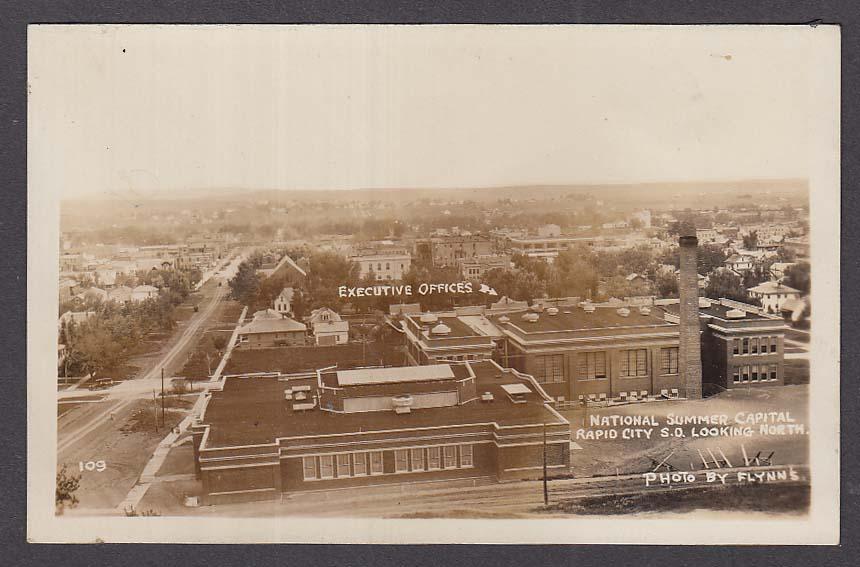National Summer Capital Rapid City SD RPPC postcard 1920s