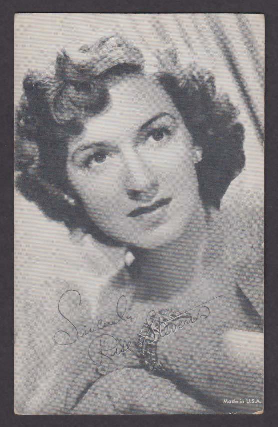 Rise Stevens headshot arcade card 1940s