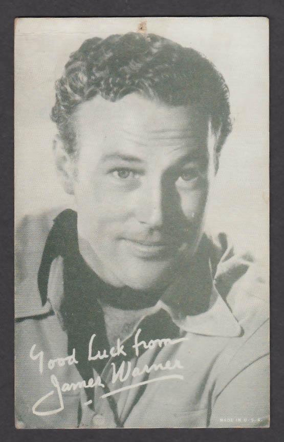 Image for James Warner arcade card 1940s