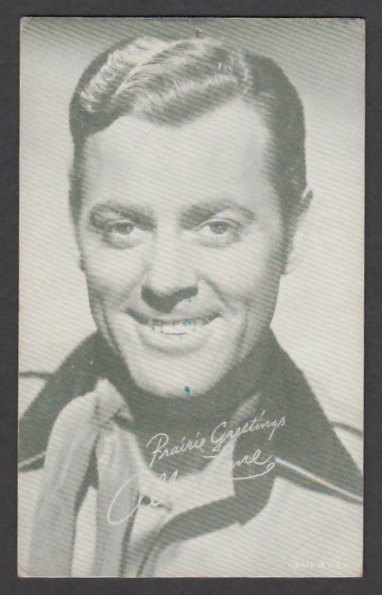 Image for Allan Lane arcade card 1940s