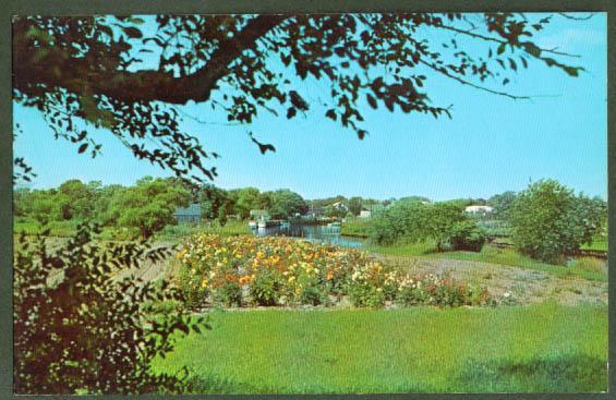 Westhampton Beach NY postcard 1950s