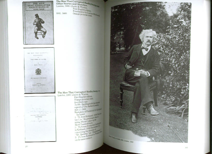 Mark Twain: a bibliography of the collections of the Mark Twain Memorial and the Stowe-Day Foundation, McBride, Bill