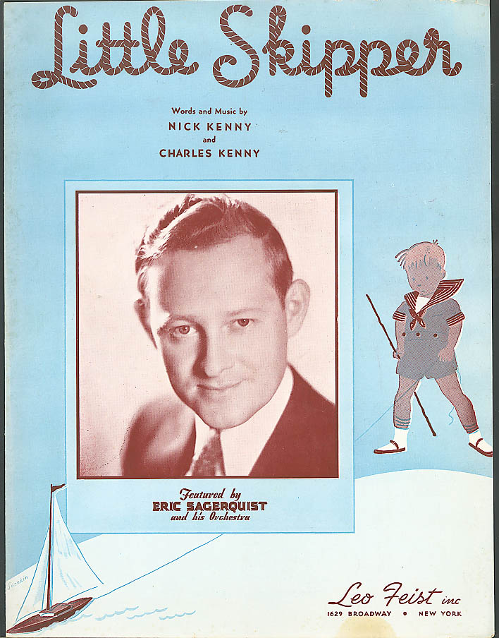 Little Skipper Kenny & Kenny sheet music 1939