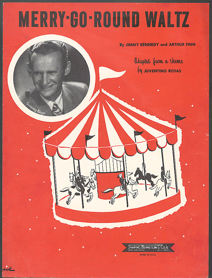 Merry-Go-Round Waltz Sammy Kaye sheet music 1949
