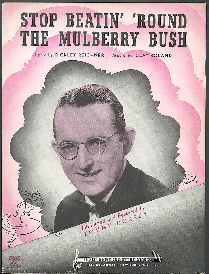 Stop Beatin' Around the Mulberry Bush sheet music 1938