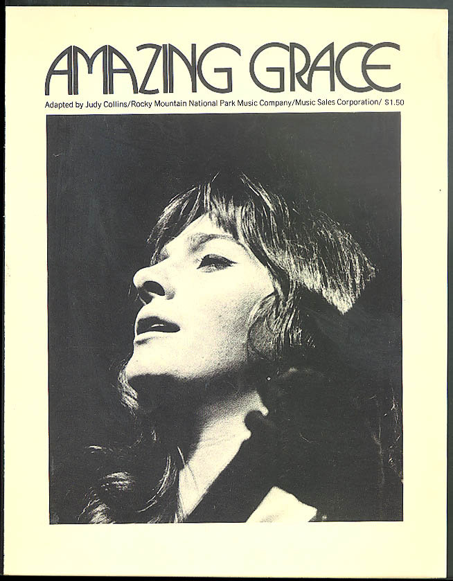 Amazing Grace adapted by Judy Collins sheet music 1971