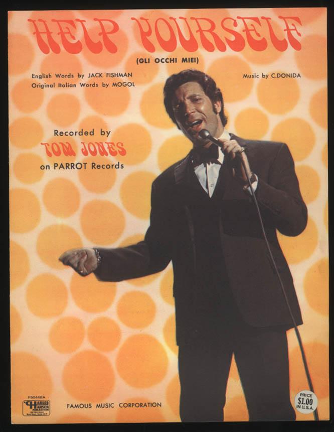 Fishman & Donida: Help Yourself sheet music 1968 Tom Jones