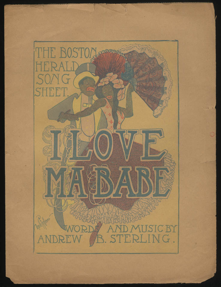 Andrew B Sterling: I Love Ma Babe sheet music black stereotype