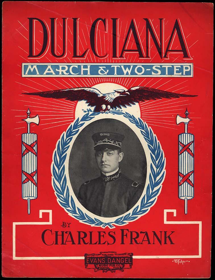 Charles Frank: Dulciana March Two-Step sheet music 1911