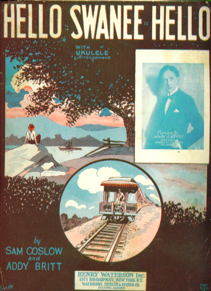 Hello Swanee Hello 1926 Sheet music