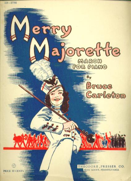 Merry Majorette 1946 Sheet music