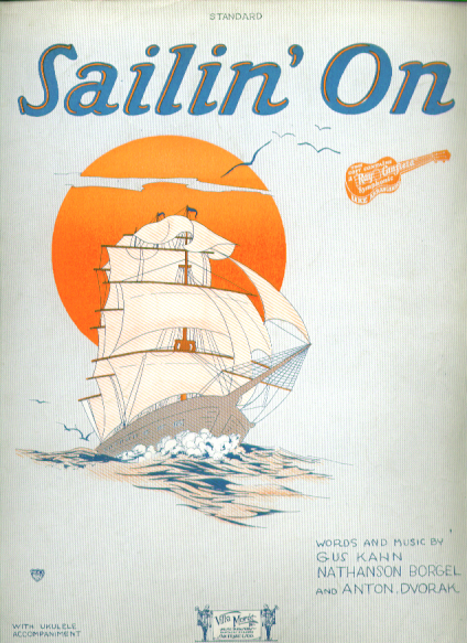 Image for Sailin' On 1927 Sheet music Gus Kahn