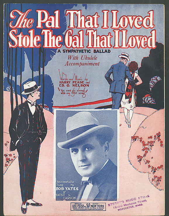 The Pal That I Loved Stole The Gal sheet music 1924