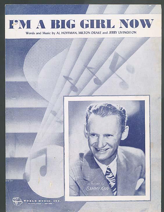 I'm A Big Girl Now sheet music 1946